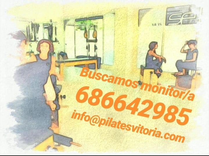 ¿Quieres trabajar como monitor/a en Studio Pilates?